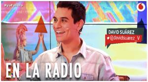 David Suárez en la radio